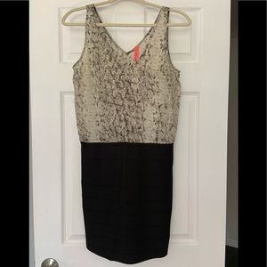 Eight Sixty Animal Print sleeveless Dress